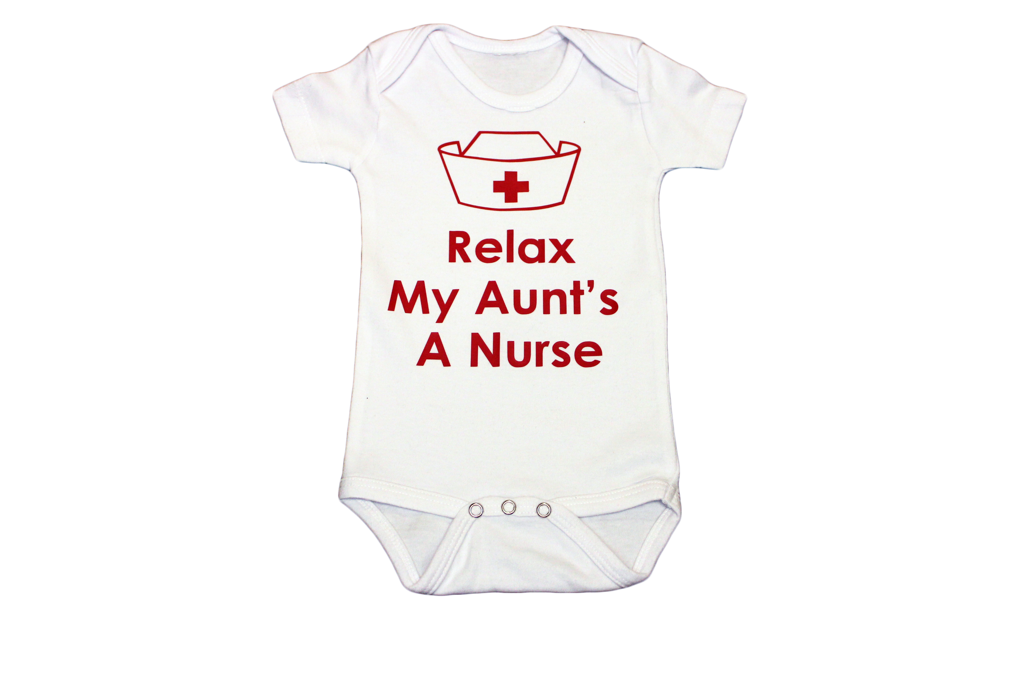 Relax my aunts a nurse baby clothing relax my aunts a nurse baby onesie negle Image collections