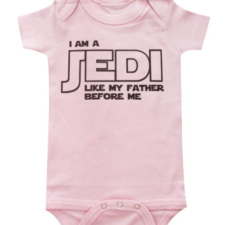 Baby Clothing Stores Near Me Mesmerizing Star Wars Pink One Piece I Am A Jedi Like My Father Before Me Baby