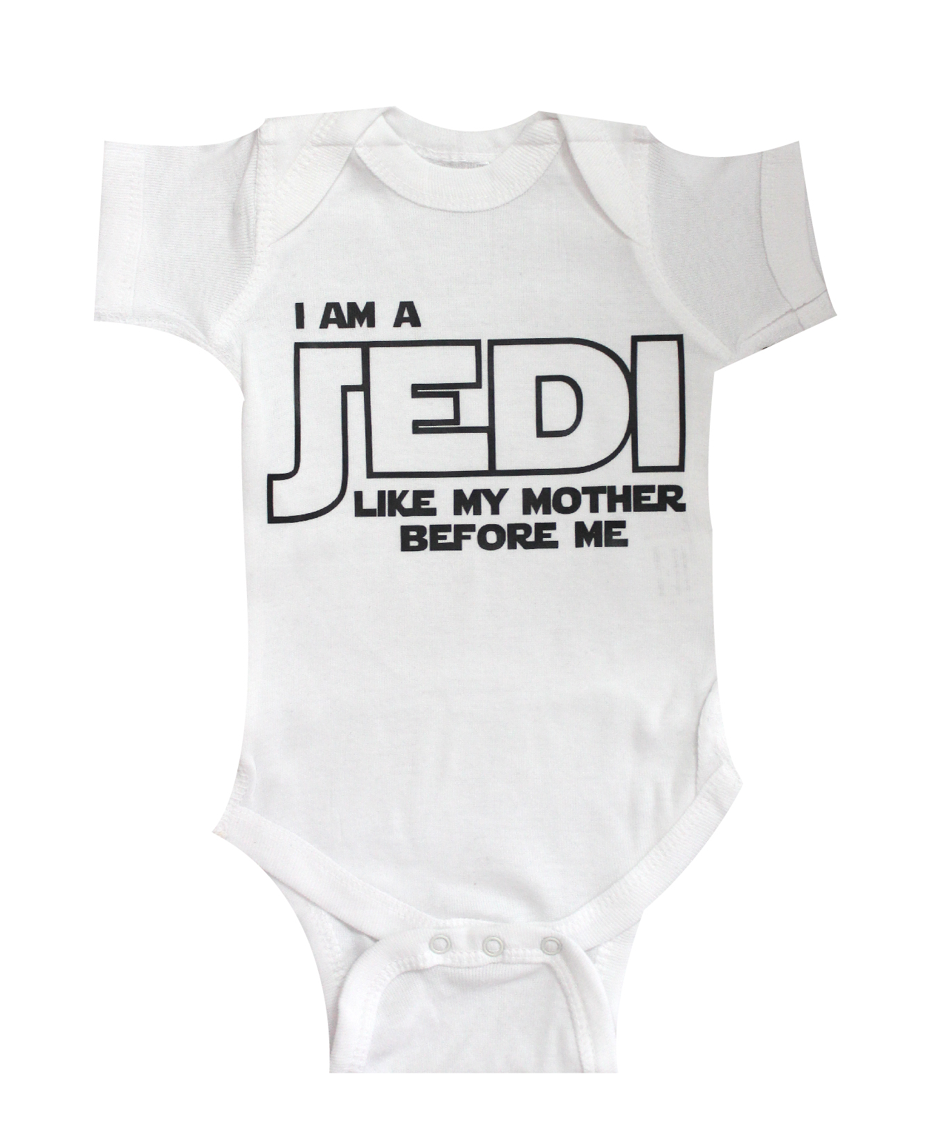 Star Wars Baby I am Jedi like my mother Baby Clothes