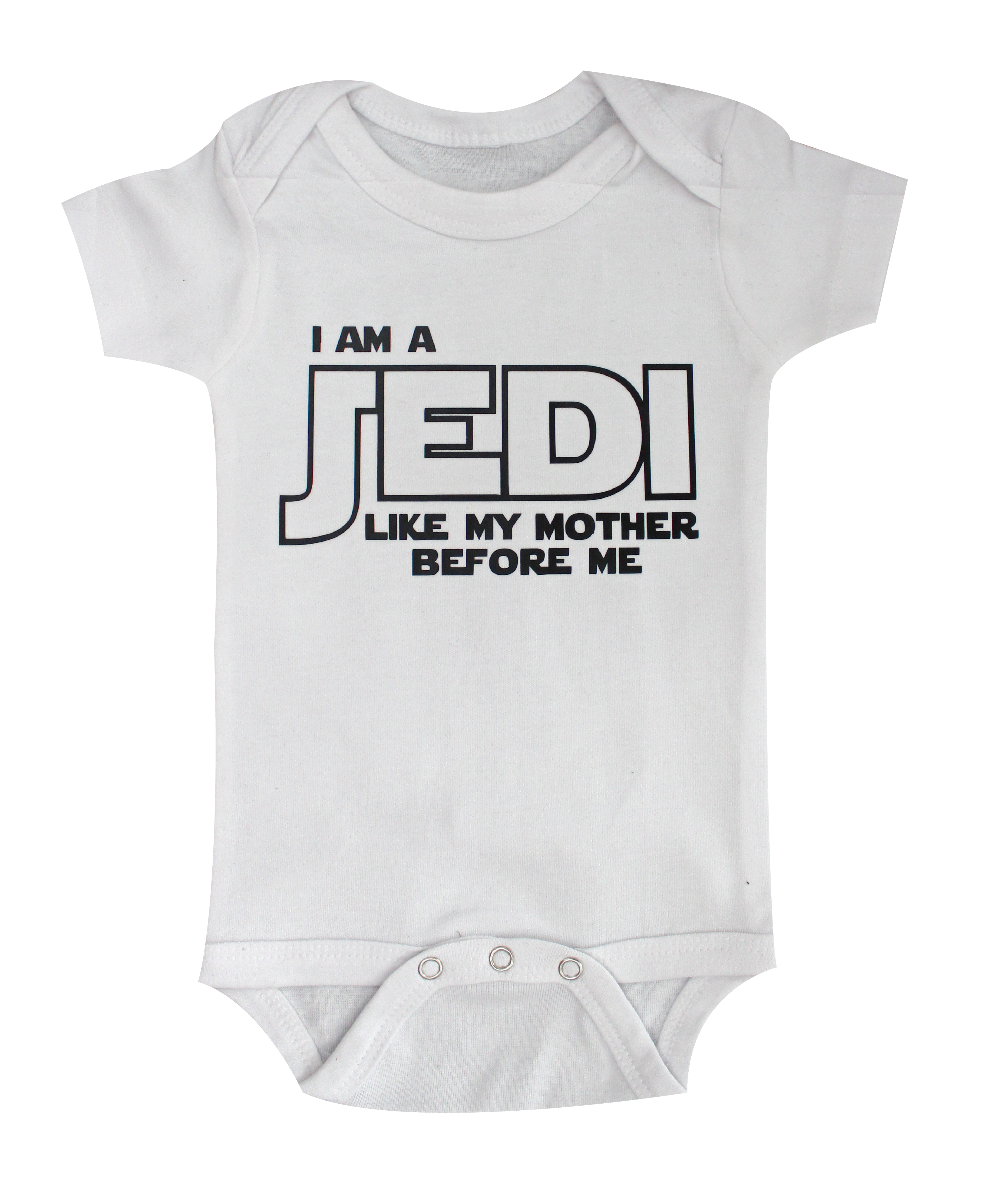 Star Wars Baby I am Jedi like my father before me White ...